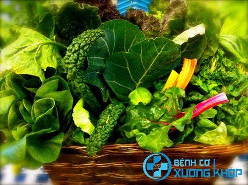 Bổ sung rau xanh trong bữa ăn phòng tránh đầy bụng khó tiêu
