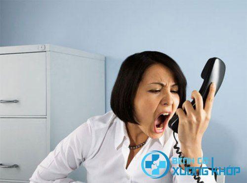 Người mắc suy nhược cơ thể rất dễ cáu gắt, cảm xúc thay đổi nhanh chóng