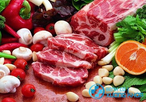 Bệnh nhân nên có chế độ ăn uống hợp lý