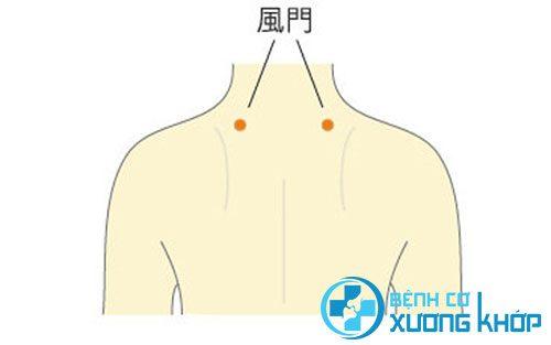 Huyệt phong môn có tác dụng phòng chữa đau cổ gáy