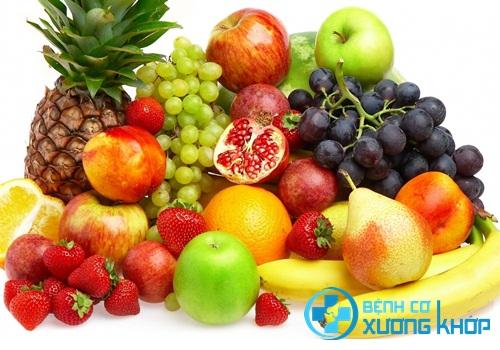 Chế độ dinh dưỡng hợp lý giúp bệnh nhân hạn chế được bệnh xương khớp