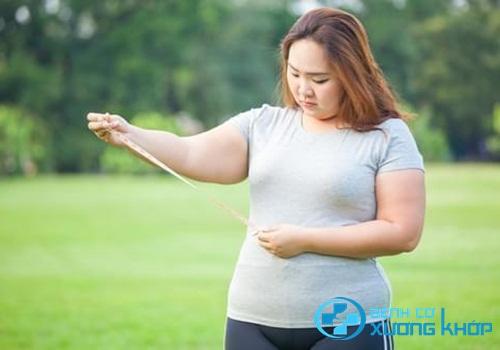 Nhóm đối tượng đang thừa cân và có thói quen lười vận động