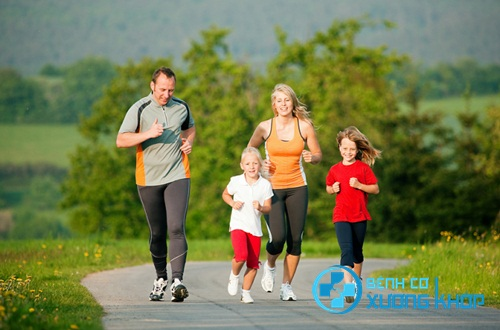Vận động và tập thể dục thể thao thường xuyên