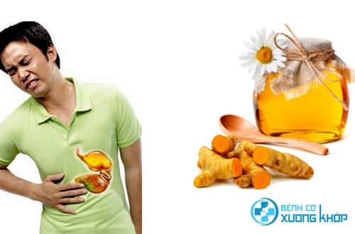 Chữa đau dạ dày bằng nghệ và mật ong bạn đã thử chưa?