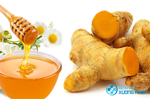 Nghệ và mật ong có tác dụng chữa bệnh đau dạ dày