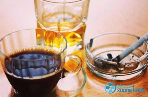 Cà phê không tốt cho người bệnh đau dạ dày