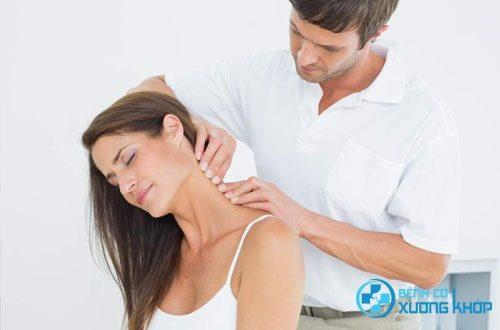 Điều trị hội chứng căng đau vai gáy