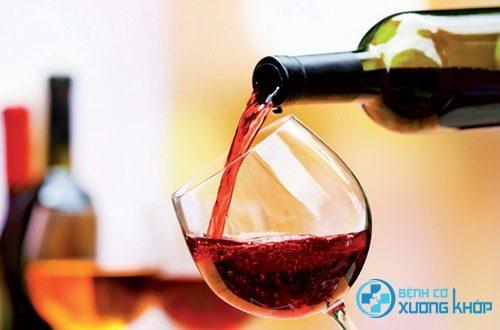 Rượu vang tốt cho xương khớp