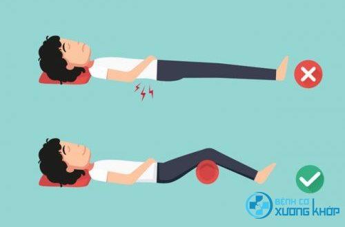 Người bệnh bị đau lưng nên nằm như thế nào để ngủ ngon?