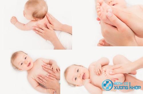 Mẹ có biết: xoa bóp bấm huyệt kích thích sự phát triển của con?