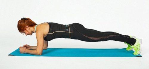 Động tác săn chắc cơ lưng và chân
