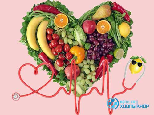 Duy trì được chế độ ăn uống lành mạnh giúp huyết áp luôn ở mức ổn định