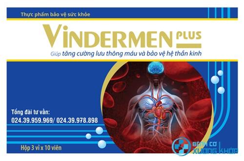 Những điều cần lưu ý khi sử dụng thuốc Vindermen Plus