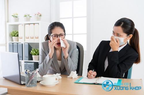 Số lượng bệnh nhân mắc cúm mùa tăng lên nhanh chóng