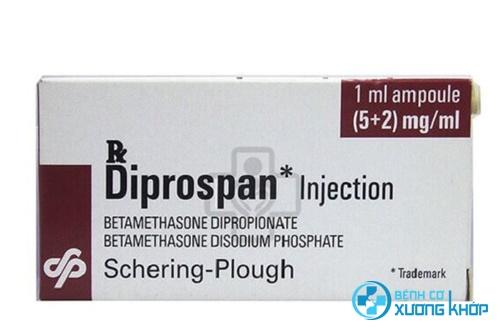 Tác dụng của thuốc tiêm khớp Diprospan là gì?