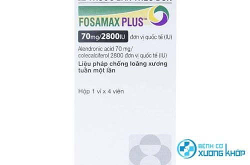 Có hiệu quả khi sử dụng thuốc Fosamax điều trị loãng xương?