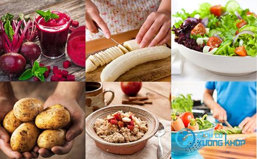 Thực hiện chế độ ăn uống cho người tăng huyết áp