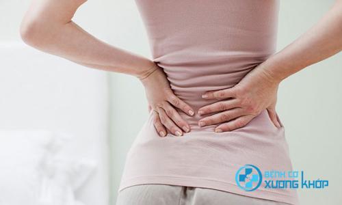 Đau lưng cũng có thể là vấn đề phụ khoa của chị em phụ nữ