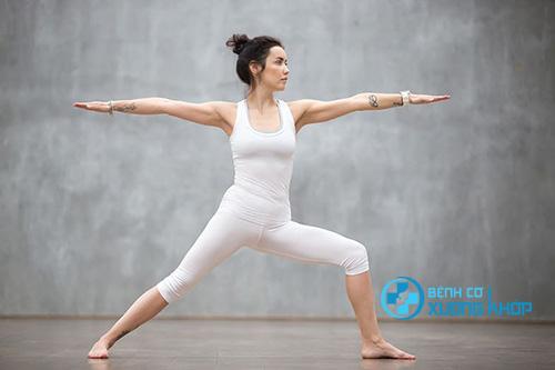 Một số bài tập yoga người mắc bệnh thoái hóa khớp nên luyện tập