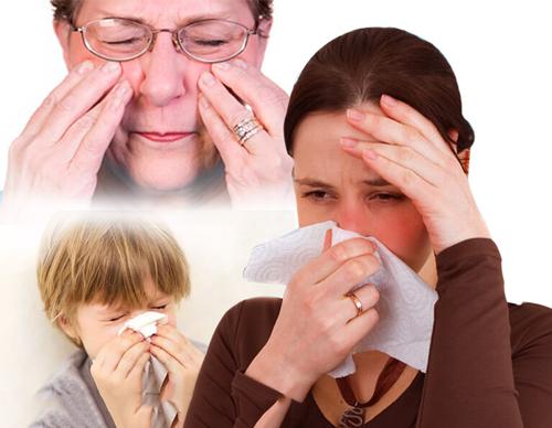 Đối tượng có nguy cơ cao bị nhiễm trùng xoang
