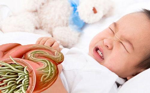 Trẻ bị nhiễm giun có hại như thế nào?