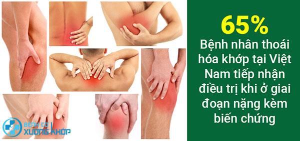 Bệnh cơ xương khớp ngày một gia tăng tại Việt Nam